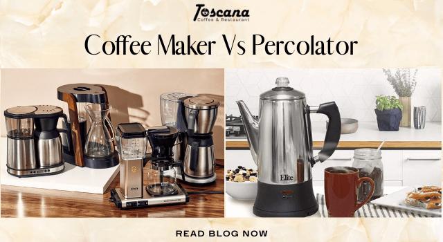 Coffee Maker Vs Percolator