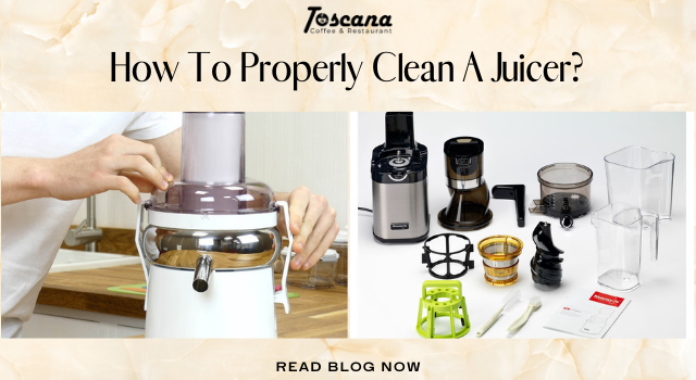 How To Properly Clean A Juicer