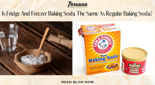 Is Fridge And Freezer Baking Soda The Same As Regular Baking Soda