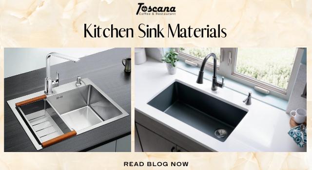 Kitchen Sink Materials