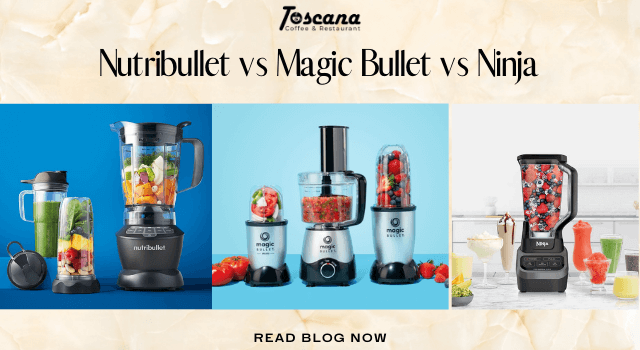 Nutribullet vs Magic Bullet vs Ninja